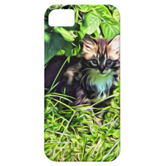 Curious little kitten case for the iPhone 5