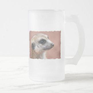 Curious Meerkat Beer Mug