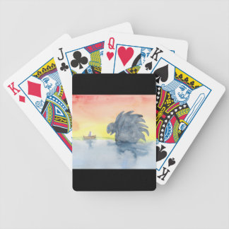 Curious Meeting Bicycle Playing Cards