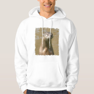 Curious Otter Hooded Sweatshirt