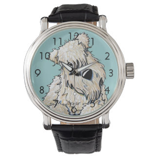 Curious Wheaten Terrier Watch