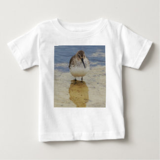 Curious young shorebird exploring baby T-Shirt