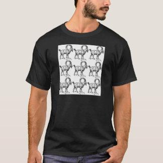 curl horn ibex T-Shirt