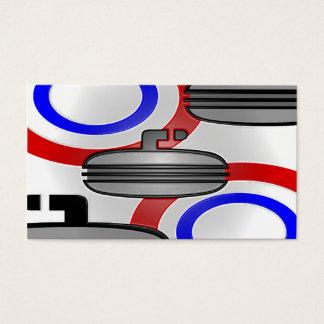 curl plastic wrap business card