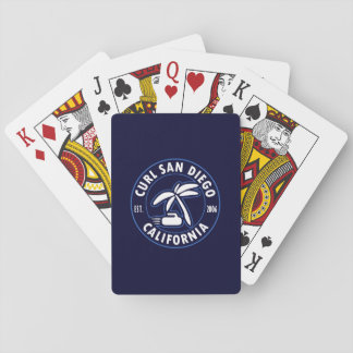 Curl San Diego Playing Cards