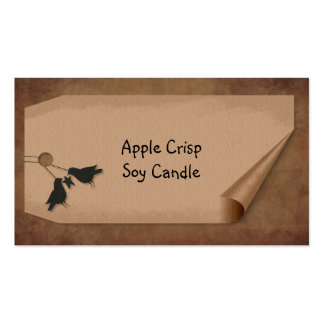 Curl Tag Crows Hang Tag Double-Sided Standard Business Cards (Pack Of 100)