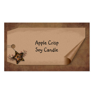 Curl Tag Star Hang Tag Pack Of Standard Business Cards