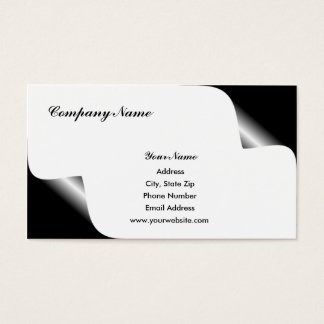 Curled Corners Business Cards