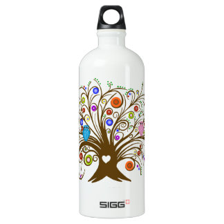 Curled Tree With Owls SIGG Traveller 1.0L Water Bottle