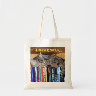 Curled Up with a Good Book Tote Bag