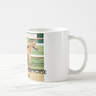 CURLIN-10 MILLION DOLLAR HORSE COFFEE MUG