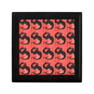Curling Dragon Gift Box