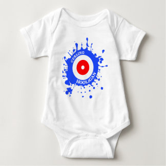 Curling Hooligan Baby Bodysuit