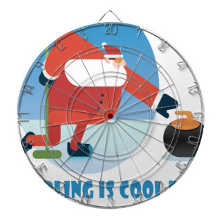 Curling Is Cool Day - Appreciation Day Dartboard