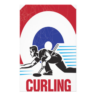 Curling Is Cool Day - Appreciation Day Stationery