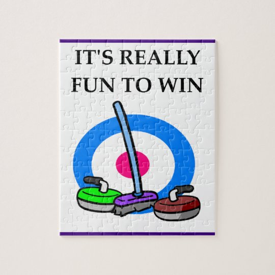 curling jigsaw puzzle