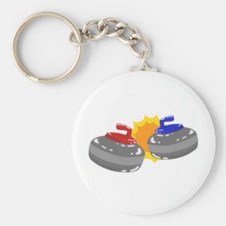 Curling Key Ring