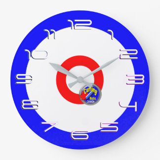 Curling Large Clock