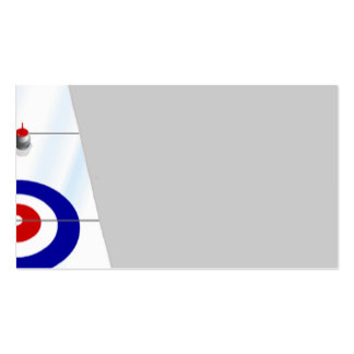 Curling Pack Of Standard Business Cards