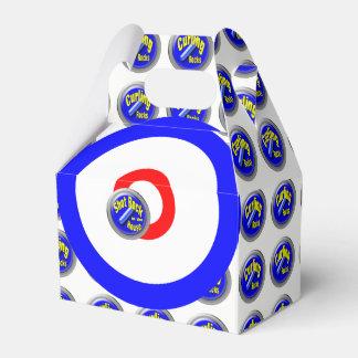 Curling rocks favour box