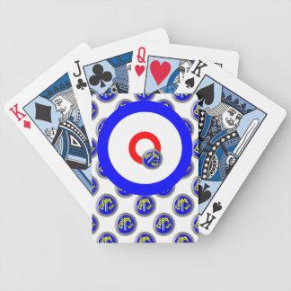 Curling rocks poker deck
