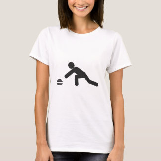 Curling slide T-Shirt