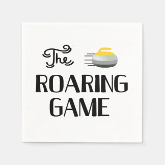 Curling, The Roaring Game, Paper Napkin