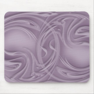 Curls Over Purple Artwork Mouse Pad