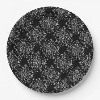 Curls Paper Plate