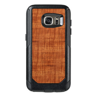 Curly Acacia Wood Grain Look OtterBox Samsung Galaxy S7 Case