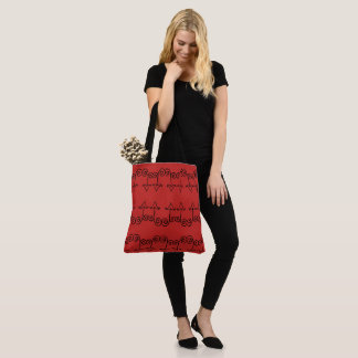 Curly Arrow Tote Bag