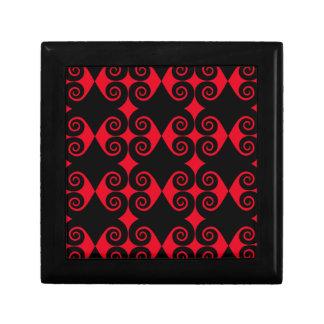 Curly Diamond Pattern Gift Box