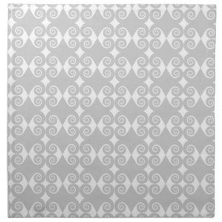 Curly Diamond Pattern Napkin