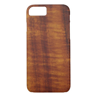 Curly Hawaiian Koa Wood Style  iPhone 7 Case