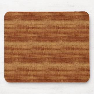 Curly Koa Acacia Wood Grain Look Mouse Pad