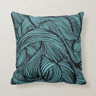 Curly LINEs Cushion