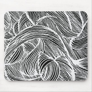 curly LINEs Mouse Pad