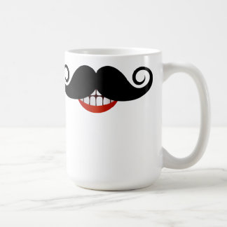 Curly Mustache Mug