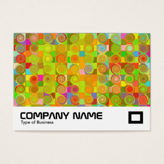 Curly Qs Business Card