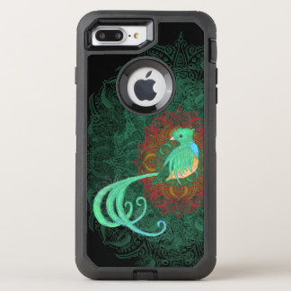 Curly Quetzal OtterBox Defender iPhone 8 Plus/7 Plus Case