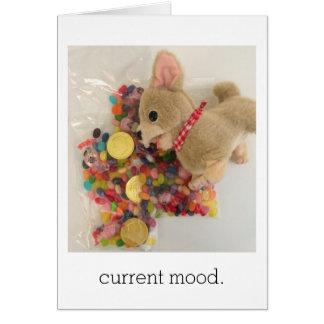 current mood greeting card
