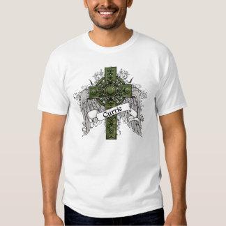 Currie Tartan Cross T-shirts