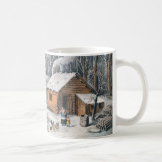 "Currier and Ives ""A Home In The Wilderness"" Mug"
