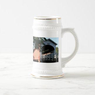 Currin Covered Bridge Stein Mug