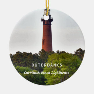 Currituck Beach Light Christmas Ornaments