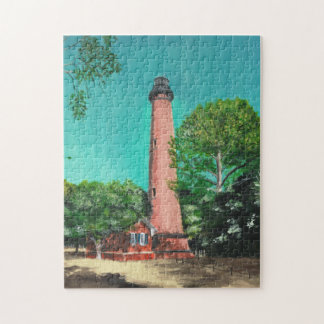 Currituck Beach Lighthouse Puzzle