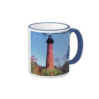Currituck Lighthouse Ringer Mug