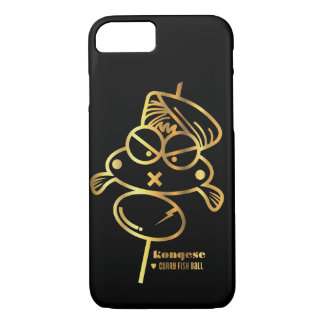 Curry Fish Ball | Black iPhone 7 Case