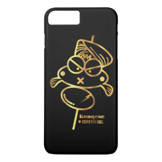 Curry Fish Ball | Black iPhone 7 Plus Case