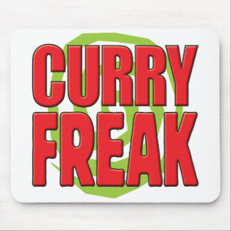 Curry Freak R Mouse Pad